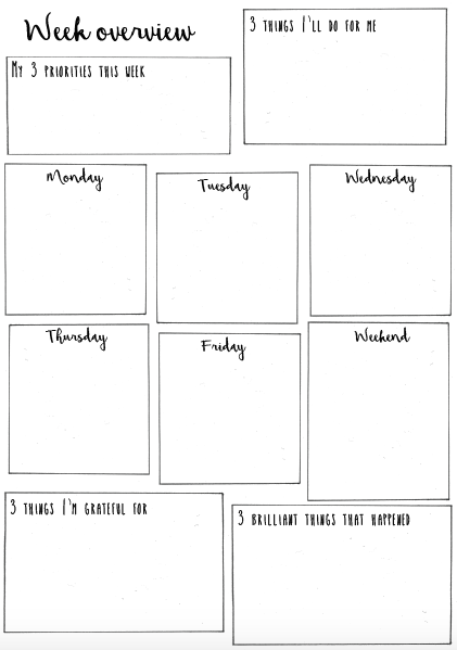 Teacher positivity planner pdf