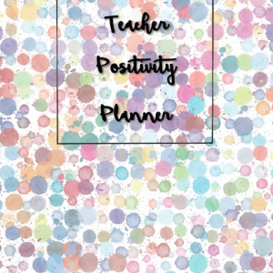 Teacher Positivity Planner Cover